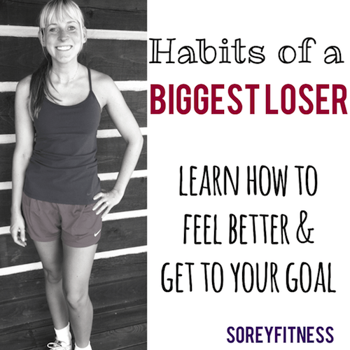 biggest loser habits
