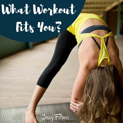 What Workout Fits You?