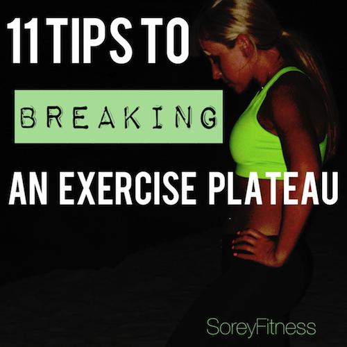 breaking a fitness plateau