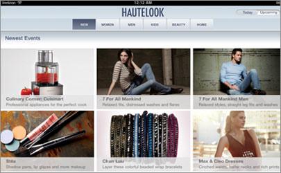 Hautelook Daily Sample Sale Site