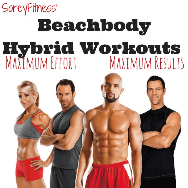 Beachbody Hybrid Workouts - Dozens of Calendars to Chose From!