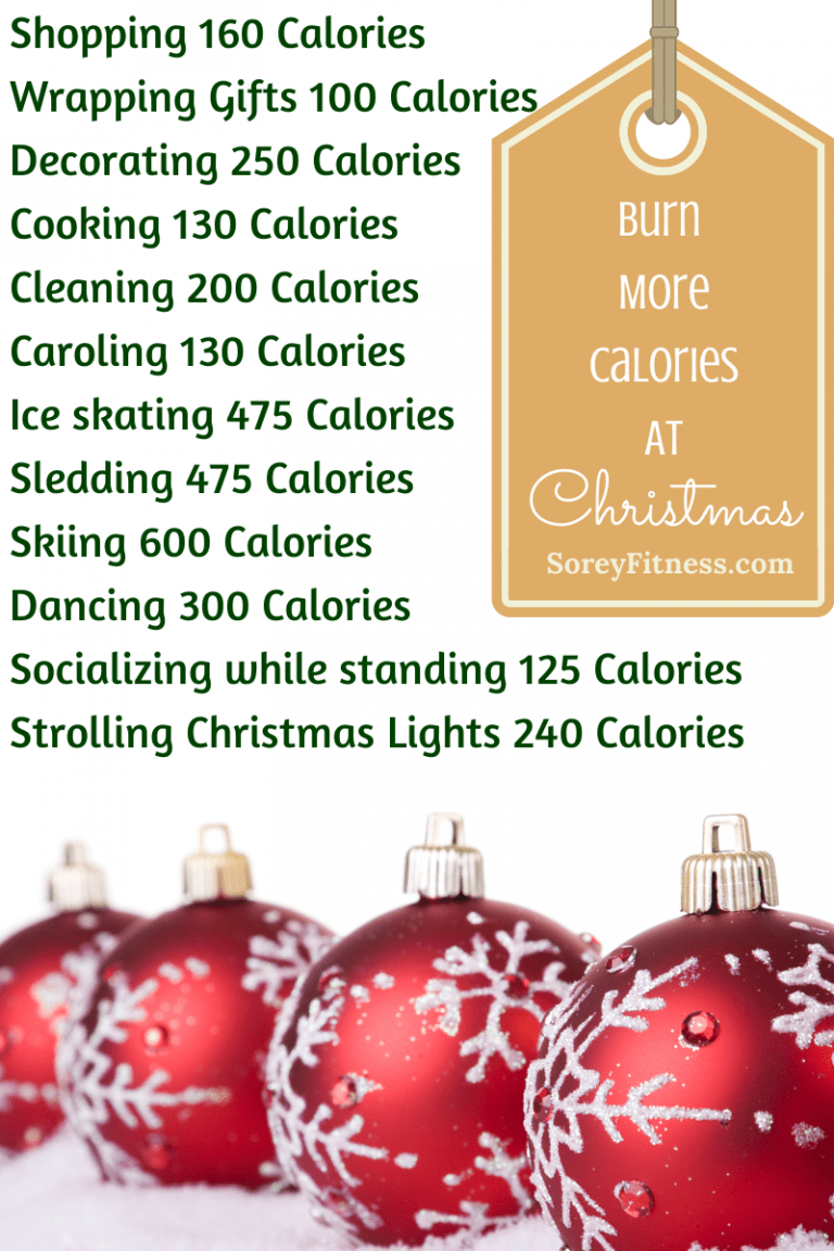 12 Ways to Burn More Calories During the Holidays
