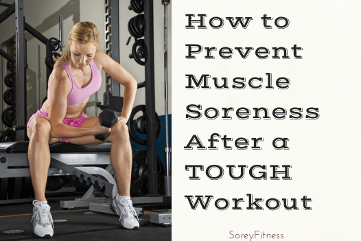Muscle Soreness From Strength Training Workouts - The Cause & Remedies