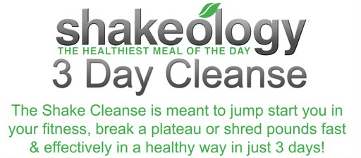 After Thanksgiving Shakeology Cleanse Challenge