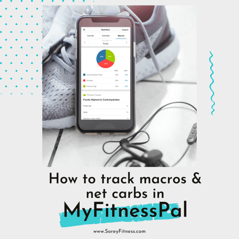 How to Track Calories, Macros, and Net Carbs in MyFitnessPal