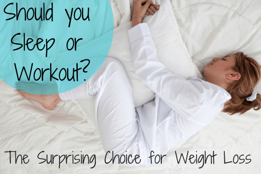 Sleep or Workout for an Hour? The Surprising Choice for Weight Loss