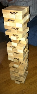 Jenga -- Game Date Night