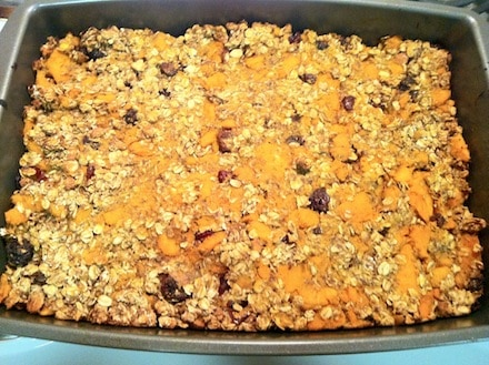 Sweet Potato Oat Bars by The Eat Clean Diet