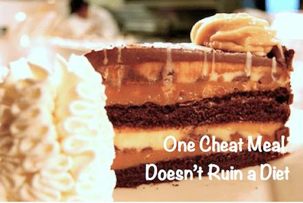 One Cheat Meal Doesn't Break a Diet