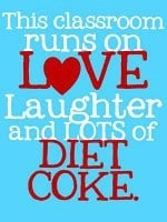 Teaching with Diet Coke