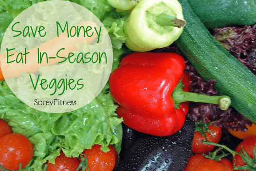 Cheap Healthy Foods -  Eat in Season Fruits & Vegetables