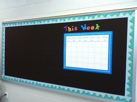 Getting my Classroom Set Up