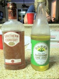 Low Calorie Cocktails - SoCo & Lime