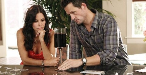 Cougar Town Wine Glasses & Calories