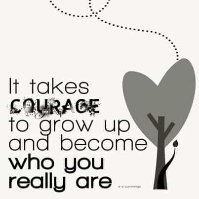 turning 30 courage