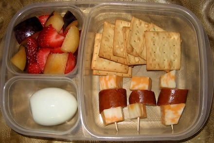 Healthy Boxed Lunch Another Friend Suggested Easy