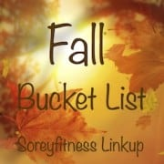 Fall Bucket List Link-Up