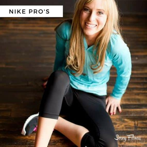nike pro workout clothes