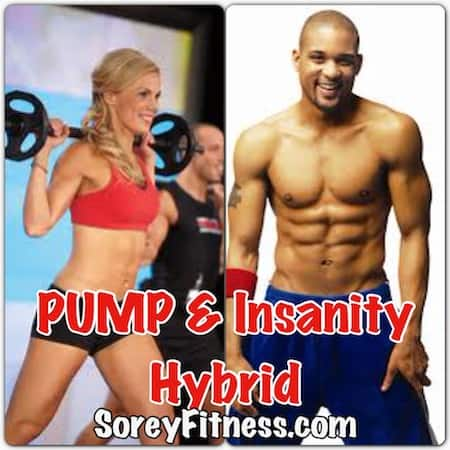 Insanity Les Mills PUMP Hybrid 10-Week Workout