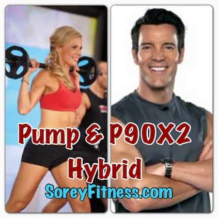 P90X2 Les Mills PUMP Hybrid Calendar by Beachbody