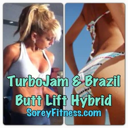 Turbo Jam Brazil Butt Lift Hybrid