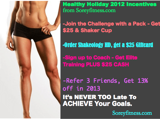 Shakeology Promotion and Beachbody Sale for 2012
