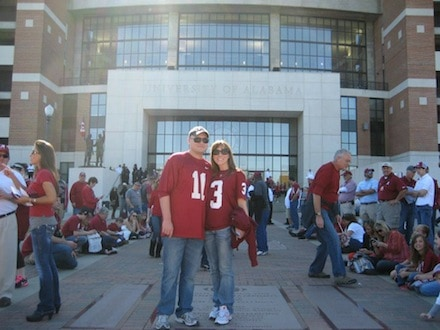 Alabama Football Bryant Denny Stadium