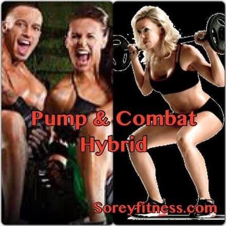 les mills pump combat hybrid