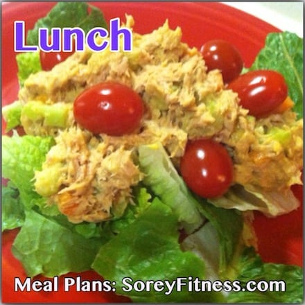 eat clean lunches weekly meal planner
