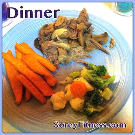 Eat up! Dinner on the Whole 30 Diet