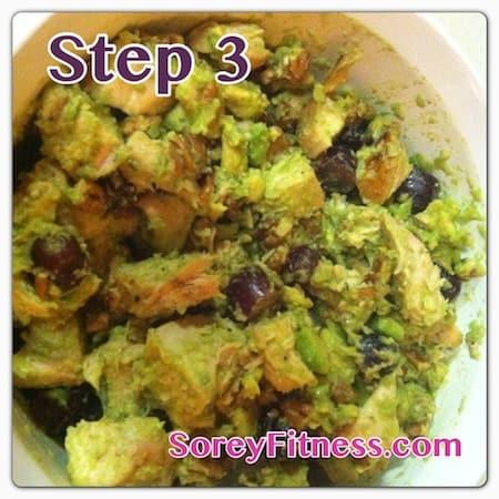 whole 30 avocado chicken salad