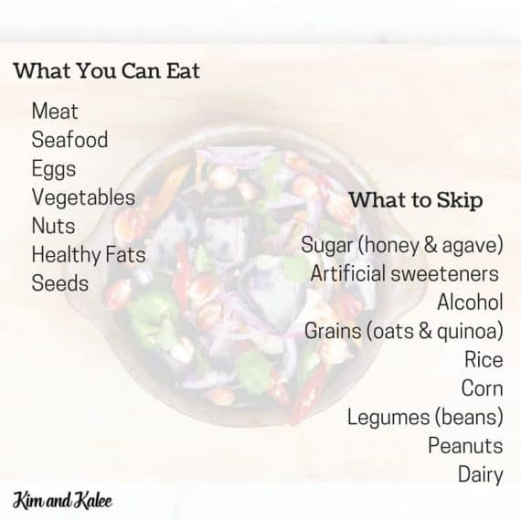 Whole 30 Foods List