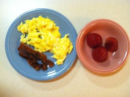 Breakfast for Testing Kids