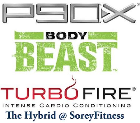 P90X TurboFire Body Beast Hybrid Workout Schedule