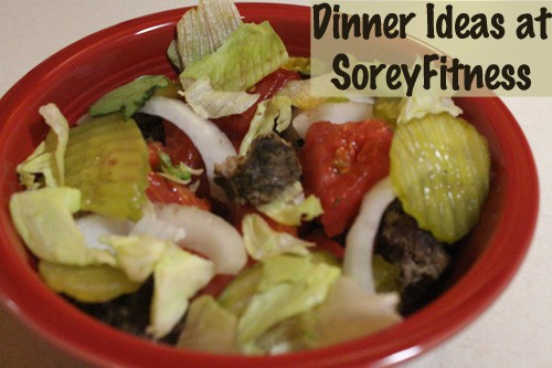 Dinner Meal Plans for Fruits and Veggies