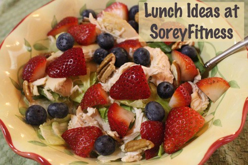 Lunch with Fruits and Veggies