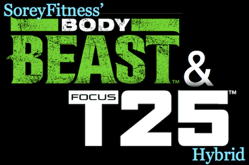 T25 Body Beast Hybrid Workout – 12 Week Workout Routines
