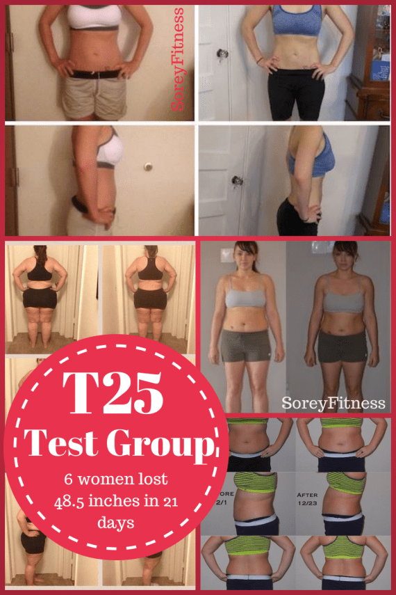 Shaun T 25 minute workouts gave 6 women incredible results fast. See their results and review of the extreme at home workout program and printable schedule.