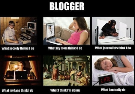 Blogger What People think