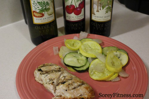Meal Plan Dinner: Chicken with Fresh Veggies