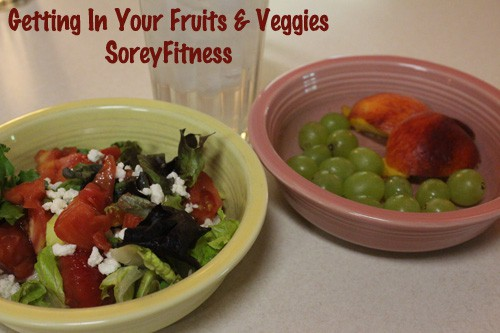 Get in Your Fruits and Veggies to Ditch the Diet Foods Meal Plan - WIAW