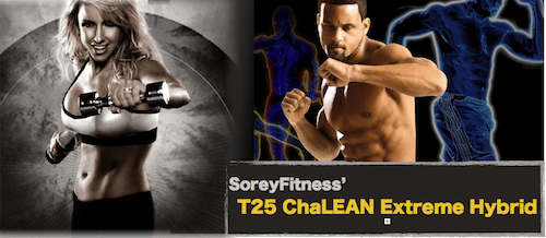 ChaLEAN Extreme T25 Hybrid Workout Calendar for Beachbody Workouts