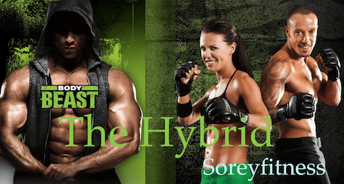 Body Beast Combat Hybrid Workout Schedule 12-Week Calendar