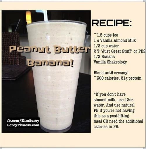 Shakeology confession add peanut butter