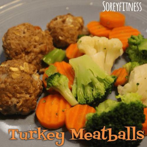 Turkey Meatballs Healthy Recipe