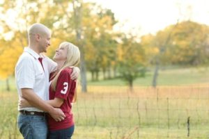 Roll Tide Jake and Kalee Engagement