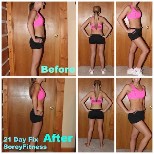 21 Day Fix Before and After