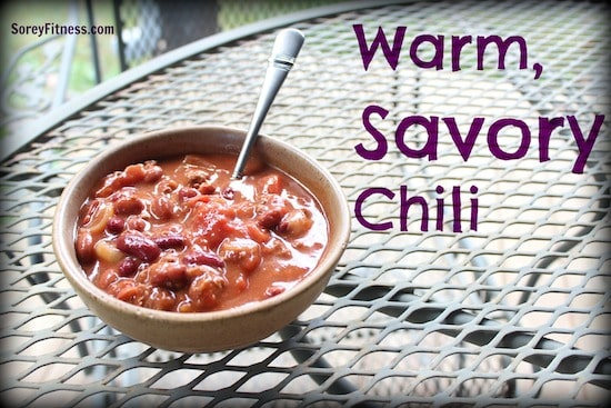A Chili Recipe to Warm Up Any Crisp Fall Night – WIAW