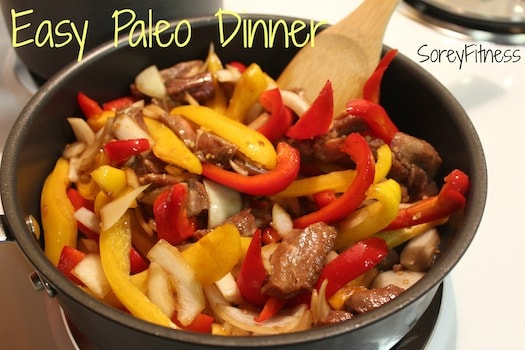 Easy healthy beef stir fry recipe