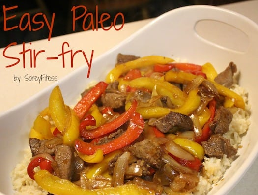 Paleo Stir Fry Beef